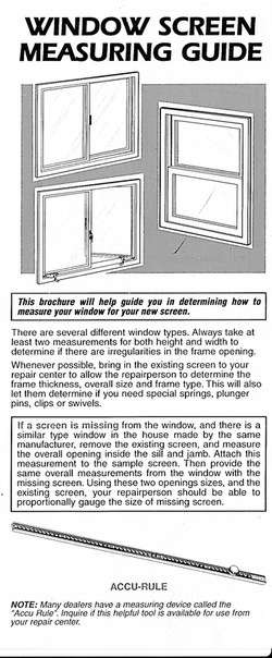 There Are Several Diffe Window Types Always Take At Least Three Measurements Edges And Center For Both Height Width To Determine If
